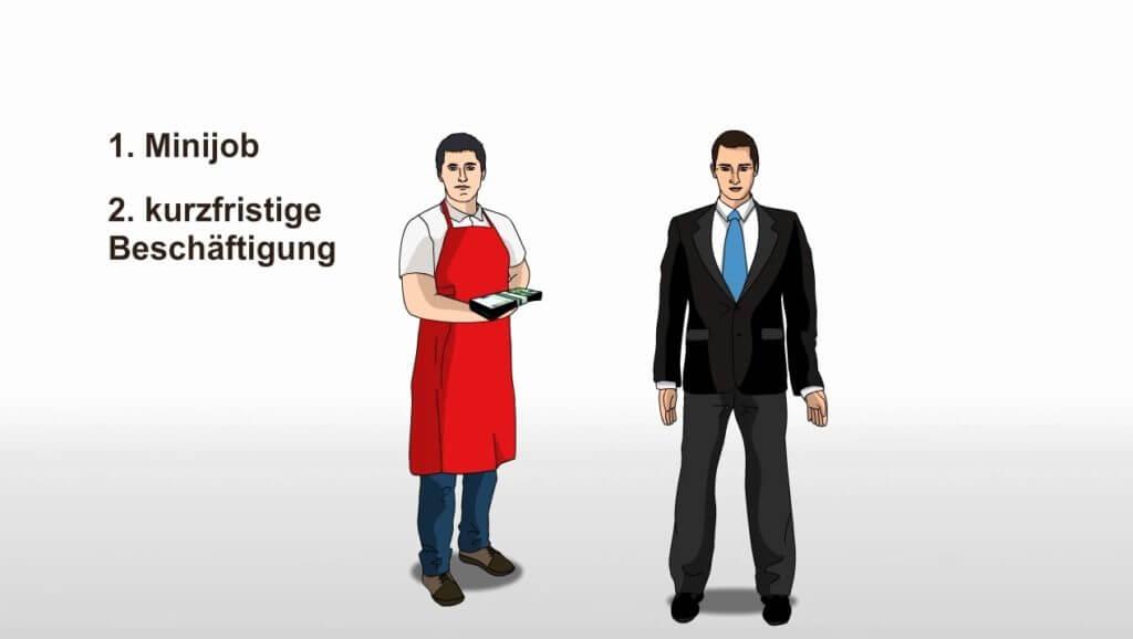 Aushilfsjobs: Günstige Beschäftigungen mit Mini- und Kurzfristjobs