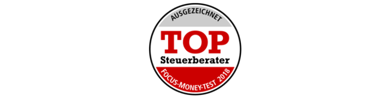 FOCUS Money: Top Steuerberater 2018, Wieder Top Steuerberater laut FOCUS Money 2018