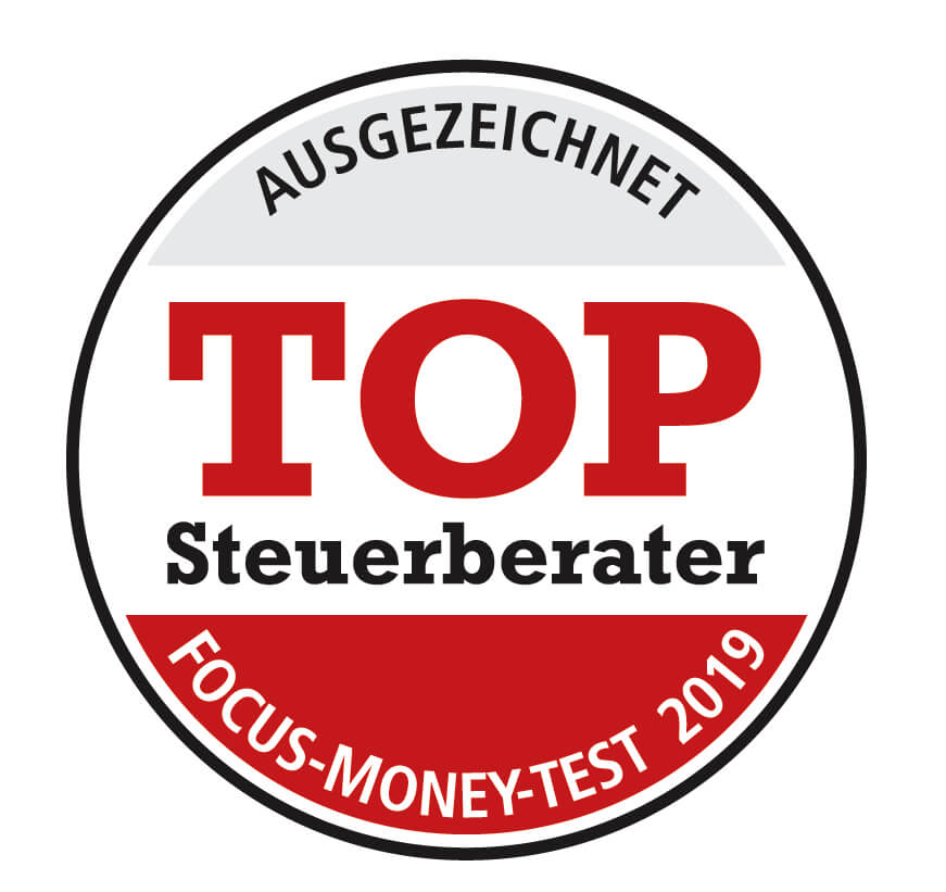 FOCUS Money: Top Steuerberater 2019, Wieder Top Steuerberater laut FOCUS Money 2019