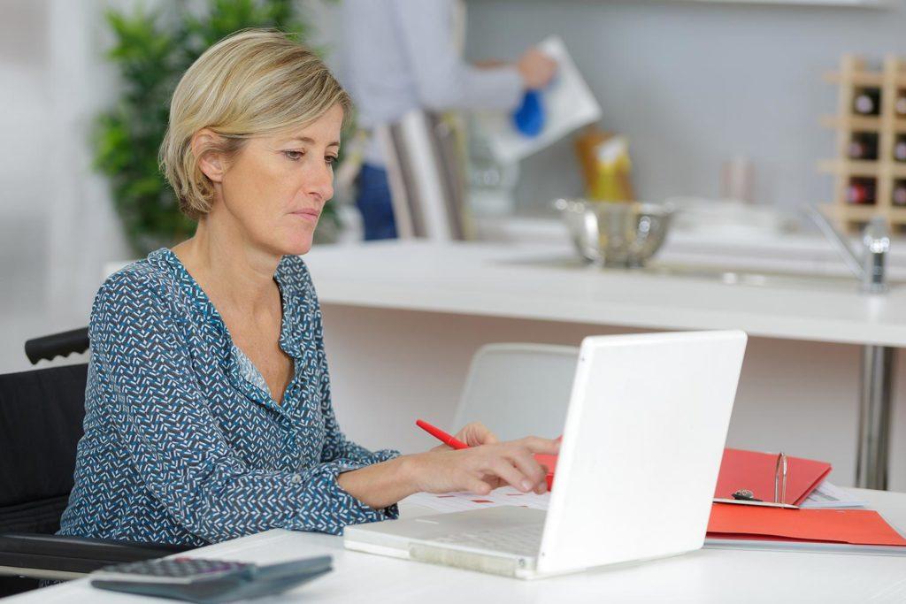 Häusliches Arbeitszimmer für Selbständige, Häusliches Arbeitszimmer für Selbständige